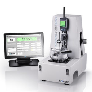 Xonox CT 200 -highly precise and robust Center Thickness measurement system