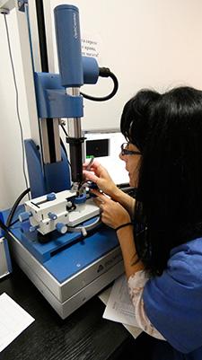 quality control plant for optics